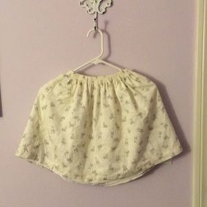 UEC Girls skirt with bunny 🐰 printing. Size 14